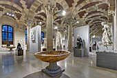France, Paris, area listed as World Heritage by UNESCO, Louvre museum, Manège room built under the regn of Napoléon III. Roman antiquities department