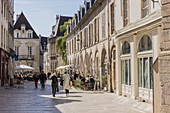 France, Côte d'Or, Dijon, street Vauban, classified city center World heritage of the UNESCO