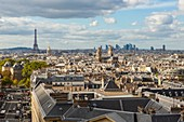 France, Paris, general view from the Pantheon hauterus