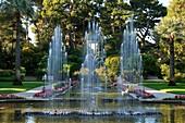 France, Alpes Maritimes, Saint Jean Cap Ferrat, villa Ephrussi de Rothschild, the French garden