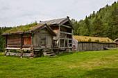 The open-air museum Eidsborg near Dalen, Telemark, Norway, Europe