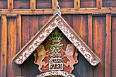 Decorated portal of the Nore Stave Church, Nore og Uvdal, Buskerud, Numedal, Norway, Europe