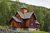 Stabkirche Uvdal, Nore og Uvdal, Buskerud, Numedal, Norwegen, Europa