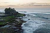 On the coast of Bali: The Hindu Tanah Lot Temple, Bali, Indonesia, Southeast Asia, Asia