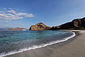 Beach au Padar Island in Komodo National Park, Indonesia, Southeast Asia, Asia