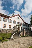 Bürgeln Castle, Obereggenen, Schliengen, Markgräflerland, Black Forest, Baden-Wuerttemberg, Germany