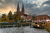 Ruppiner See, Monastery Church, Neuruppin, Ruppiner Land, State of Brandenburg, Germany