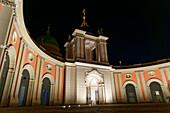 Fortunaportal, City Palace, Nikolaikirche, Alter Markt, Potsdam, Brandenburg State, Germany