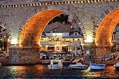 France, Bouches du Rhone, Marseille, district of Endoume, cove of the Vallon des Auffes