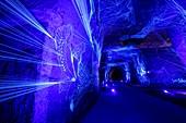 France, Maine et Loire, Loire Valley, Saint Hilaire Saint Florent, Ackerman caves, The Celestial River - masterpiece of french artist Julien Salaud