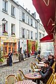 France, Paris, Montmartre, Place Jean Baptiste Clement