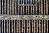 France, Deux Sevres, Oiron, castle of Oiron, dated 16th century, painted ceiling