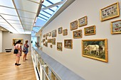 France, Seine Maritime, Le Havre, city center listed as World Heritage by UNESCO, Museum of Modern Art Andre Malraux (MuMa) opened in 1961, works of the Norman painter Eugene Boudin, Studies of cows