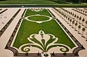 France, Loir et Cher, Loire Valley classified World Heritage by UNESCO, Loire Castles, Chambord Royal Castle, French Gardens