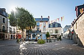 France, Morbihan, Auray, Roues square