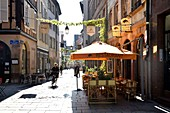 France, Bas Rhin, Strasbourg, old town listed as World Heritage by UNESCO, Rue des Tonneliers