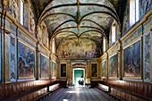 France, Haute Garonne, Toulouse, Carmelite Chapel, mural pantings by Rivalz and Despax