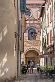 France, Haute Loire, Brioude, Saint Julien basilica, Allier valley
