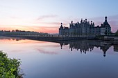 France, Loir et Cher, Loire valley listed as World heritage by UNESCO, Chambord, the royal castle