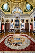 France, Paris, hôtel de Salm, palace of the Legion of honor, the Grand Chancellors room