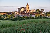 France, Gers, Lavardens, labeled Les Plus Beaux Villages de France (The Most Beautiful Villages of France)