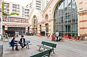France, Paris, the Centquatre, innovative artistic and cultural establishment