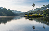 Kandy Lake (Kiri Muhuda or Sea of Milk),artificial lake in heart of hill city,Kandy,Sri Lanka