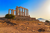 Temple of Poseidon, Cape Sounion, Attica, Greece, Europe