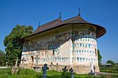 Arbore Monastery, 1502, UNESCO World Heritage Site, Arbore, Suceava County, Romania, Europe