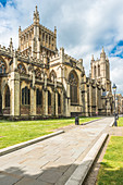 Bristol Cathedral in Bristol city centre, Avon, England, United Kingdom, Europe