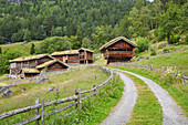 Setesdalsmuseet in Rygnestad, Valle, Setesdalen, Aust-Agder, Norway, Europe