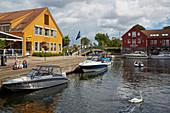 At the fish market in Kristiansand, Vest-Agder, Skagerak, Norway, Europe