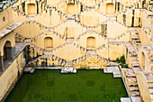 A step well near Kheri Gate, Jaipur, Rajasthan, India, Asia