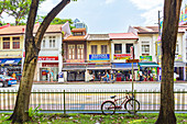 Serangoon Road in Little India, Singapur, Asien