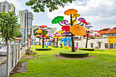 Playground in Little India, Singapore