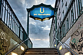 U-Bahn Hermannplatz, Neukoelln, Berlin, Germany
