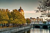 Berliner Stadtschloss, Lustgarten, Spree, Herbst,  Berlin, Deutschland
