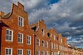 Brick houses, Dutch houses, Dutch Quarter, Potsdam, Brandenburg, Germany, Europe