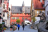 Town hall of Ochsenfurt am Main, Lower Franconia, Bavaria, Germany