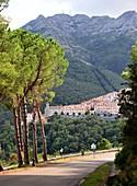 Marciana Alta unter dem Monte Capanne, West-Elba, Toskana, Italien