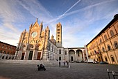 at the Duomo of Siena, Tuscany, Italy