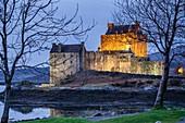 castillo de Eilean Donan, siglo XIII, Kyle of Lochalsh,  Highlands, Escocia, Reino Unido