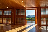 The interiors of the Japanese-style house, Chiang Mai, Northern Thailand