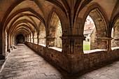 "UNESCO World Heritage Site ""Naumburg Cathedral"", Naumburg (Saale), cloister, Burgenlandkreis, Saxony-Anhalt, Germany"