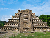 Pre-Columbian archaeological site of El Tajin, UNESCO World Heritage Site, Veracruz, Mexico, North America