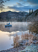 Dawn light over Glenridding on Ullswater, Lake District National Park, UNESCO World Heritage Site, Cumbria, England, United Kingdom, Europe
