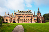 Exterior, Mount Stuart House, Bute, Western Isles, Scotland, United Kingdom, Europe