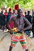 Voodoo ceremony in Dogondoutchi, Niger, West Africa, Africa