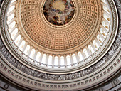 Rotunda of the U.S. Capitol Building, Washington, DC, United States of America, North America