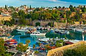 Old Harbour, Kaleici, Antalya, Turkey, Asia Minor, Eurasia